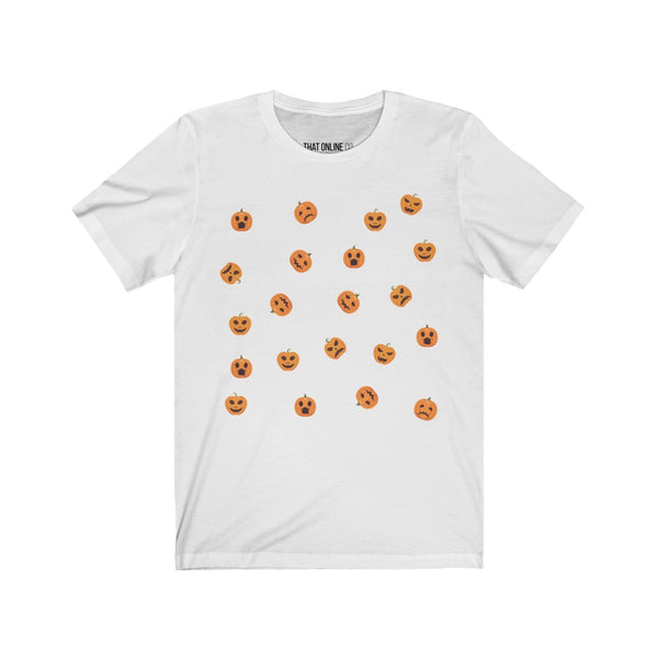 Jack O Lantern | Unisex Jersey Tee-That Online Company
