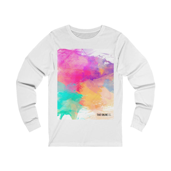 Colours | Unisex Long Sleeve Tee-That Online Company