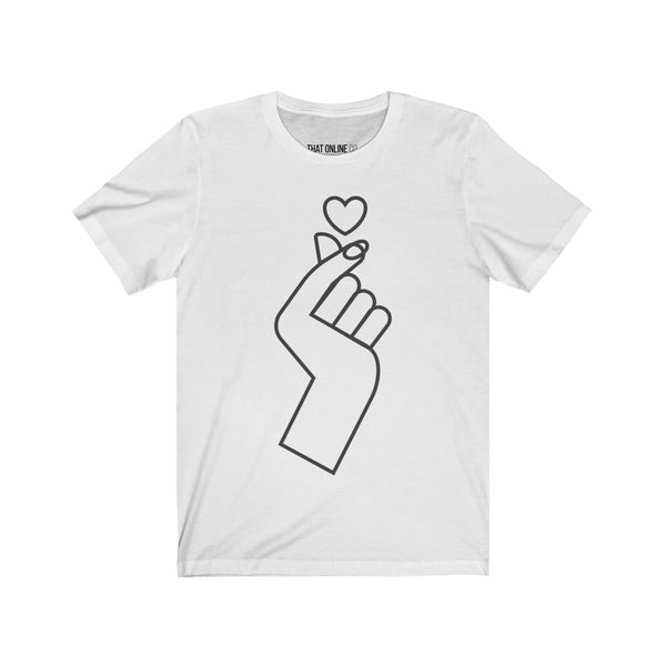 Little Hearts | Unisex Jersey Tee-That Online Company