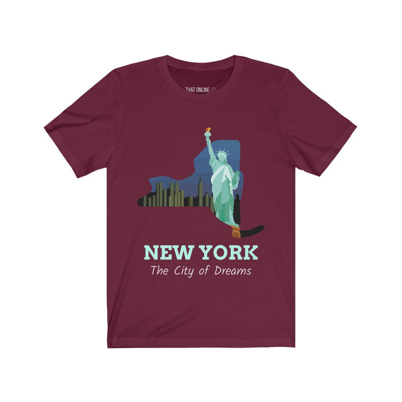 New York | Unisex Jersey Tee-That Online Company