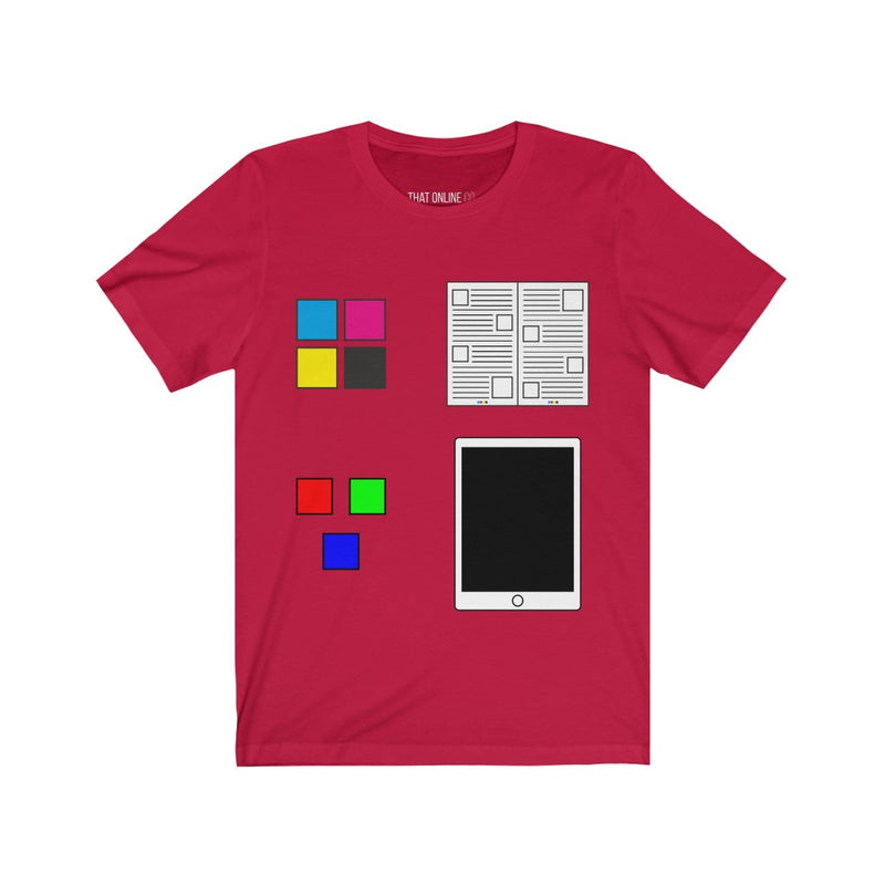 Color Mode | Unisex Jersey Tee-That Online Company