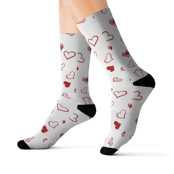 Heart Felt | Sublimation Socks-That Online Company