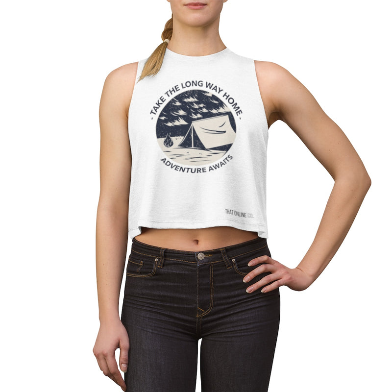 Adventure Awaits | Crop top-That Online Company