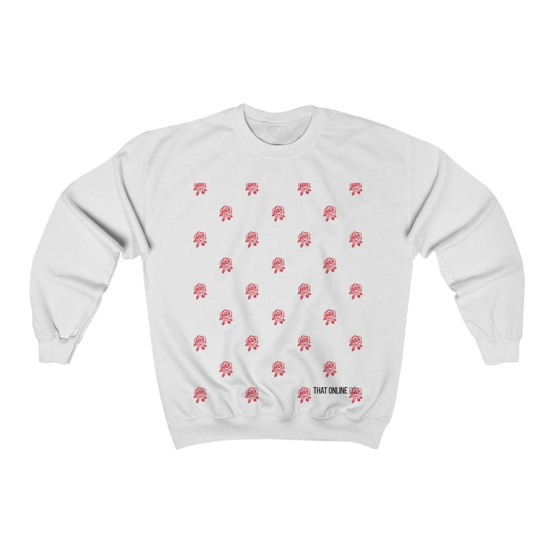 Red Rose | Unisex Sweatshirt-That Online Company