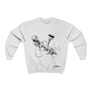 Car Engine | Unisex Sweatshirt-That Online Company