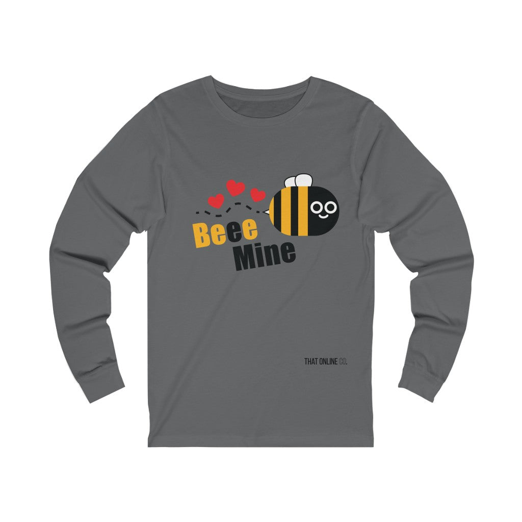 Beee Mine | Unisex Long Sleeve Tee-That Online Company
