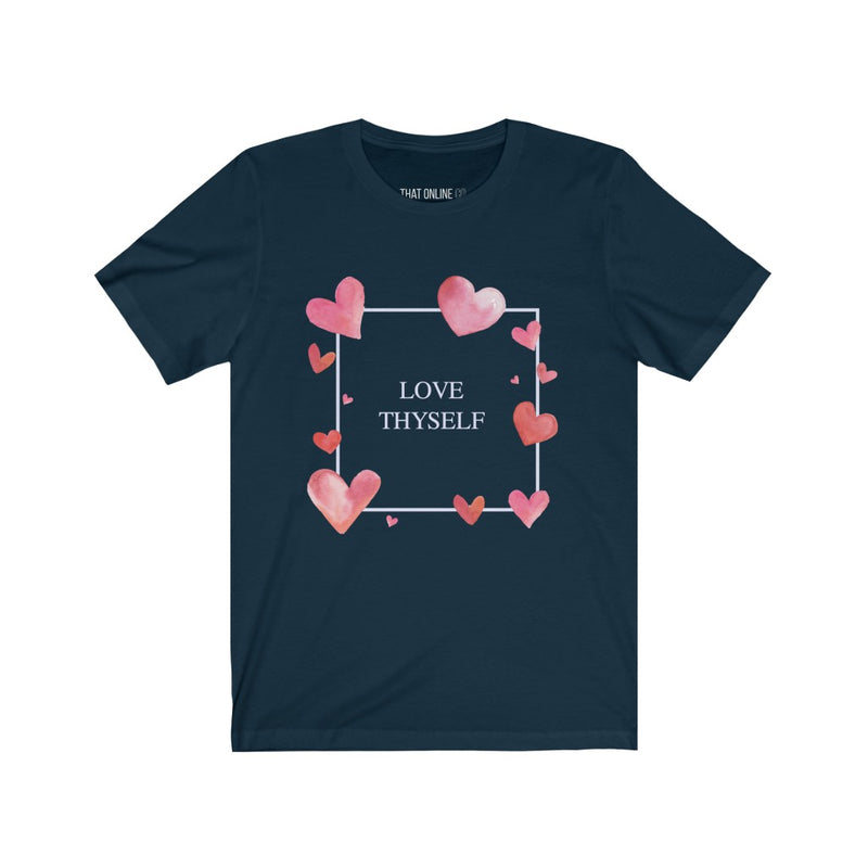 Love Thyself | Unisex Jersey Tee-That Online Company