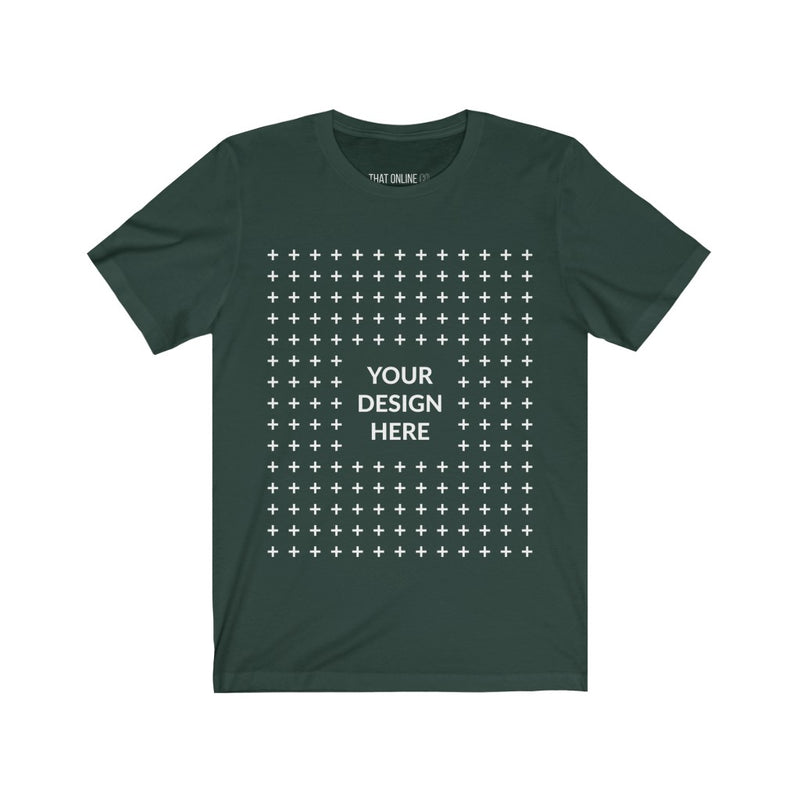 Your Design Here | Unisex Jersey Tee-That Online Company