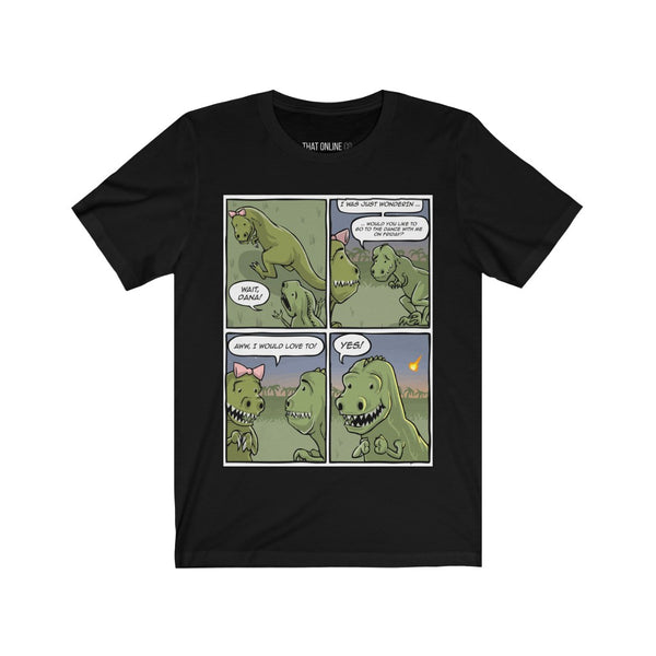 Dino Comic Strip | Unisex Jersey Tee-That Online Company