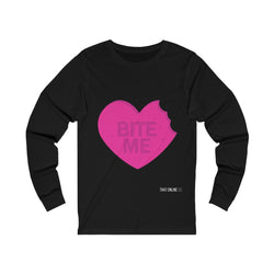 Bite Me | Unisex Long Sleeve Tee-That Online Company