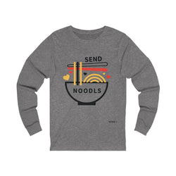 Send Noodles | Unisex Long Sleeve Tee-That Online Company