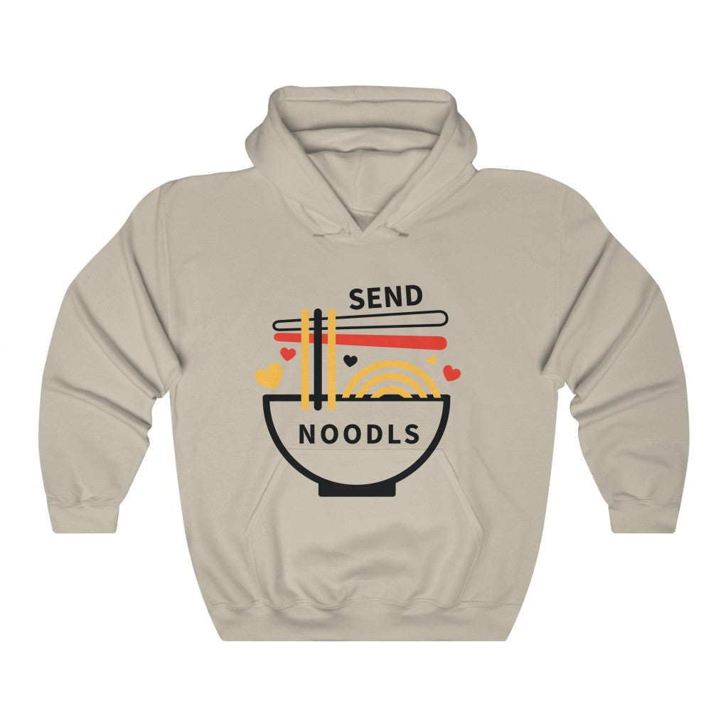 Send Noodles | Unisex Hooded Sweatshirt-That Online Company