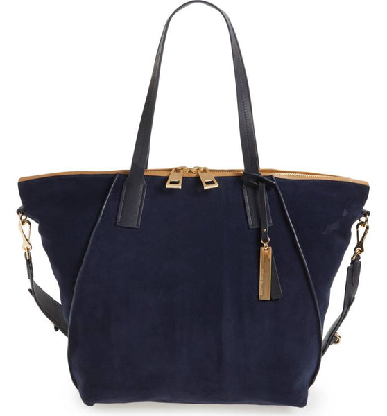 Alcia Large Tote - Winter Navy
