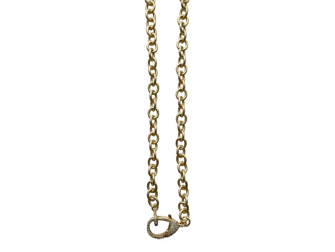 Charm Necklace - CZ Chain