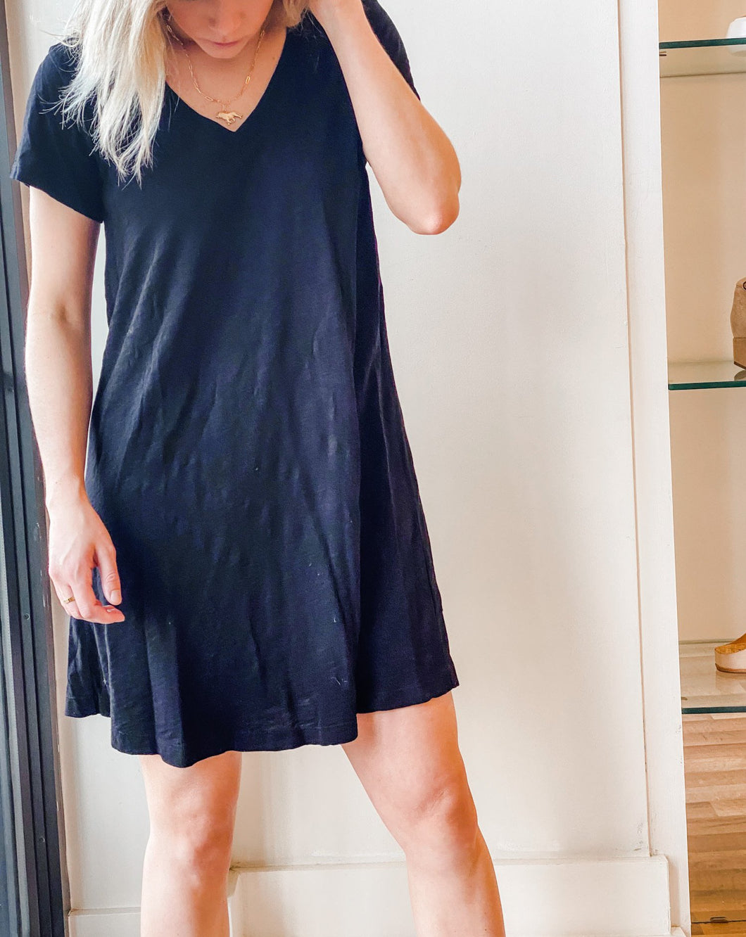 Trapeze Dress - Black