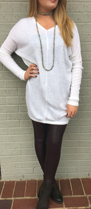 Winter White Tunic