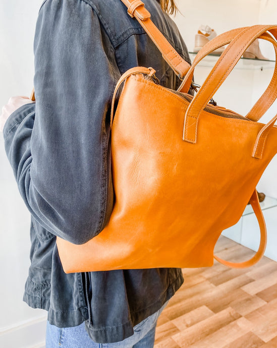 Abera Backpack - Cognac