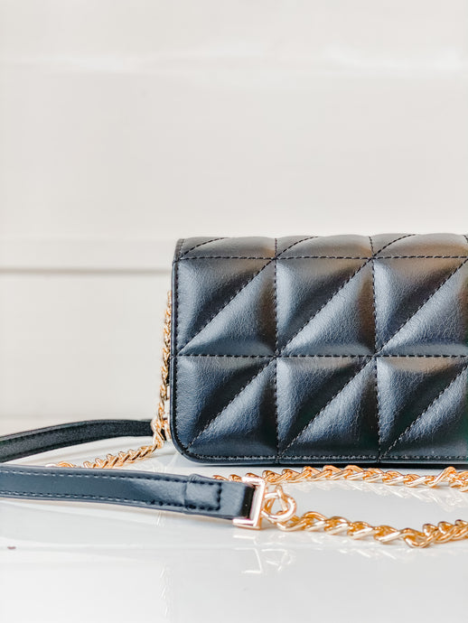 Brianna Crossbody - Black