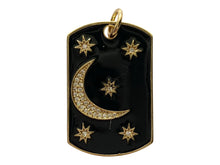 Night Sky Charm - Black