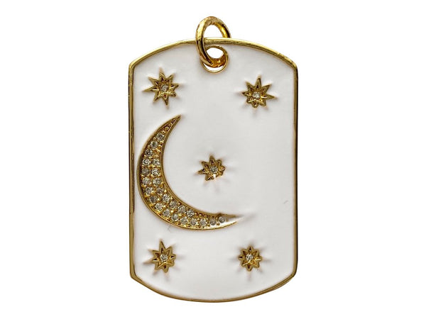 Night Sky Charm - White