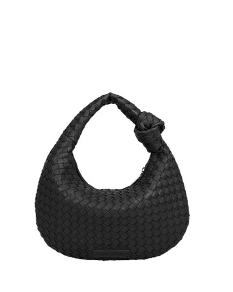 Drew Small Shoulder Bag - Black