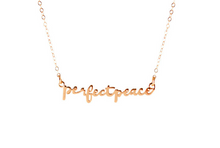 Perfect Peace necklace