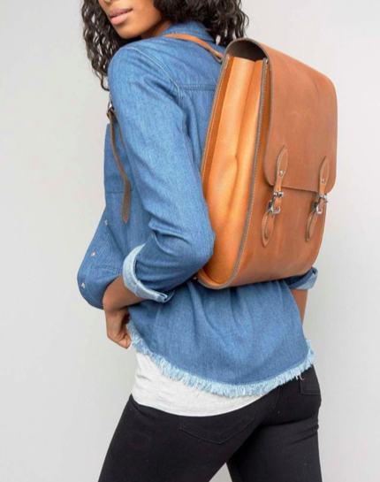 Windsor Backpack - London Tan Leather