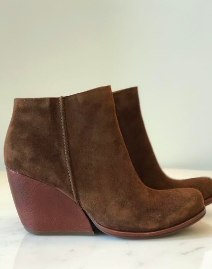 Natalya- Brown Suede