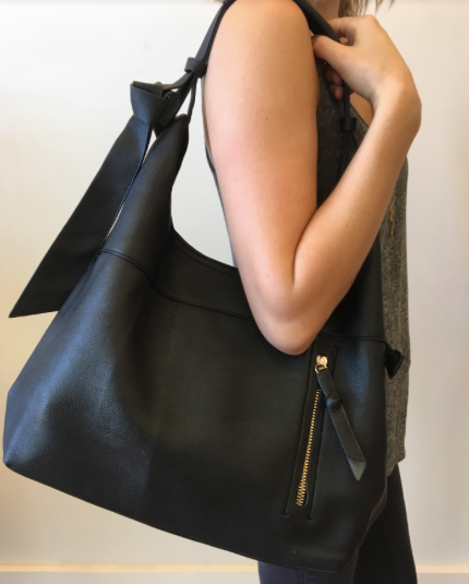 Clara Shoulder Bag - Black