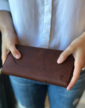 Melissa Zip Wallet- Redwood