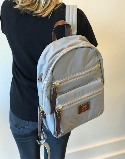 Ivy Backpack- Light Grey