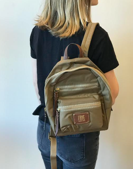 Ivy Mini Backpack- Tan
