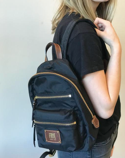 Ivy Mini Backpack- Black