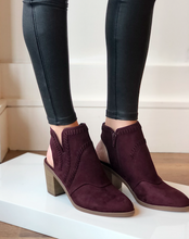 Allspice Burgundy Ankle Boot