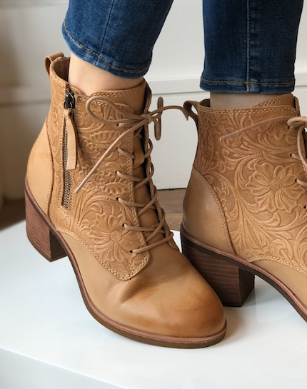 Sondra Lace Up Boot