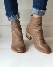 Sancia Slouch Bootie - Light Taupe