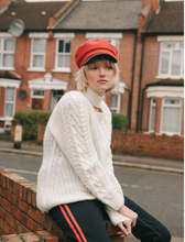 Lorde Knitted Sweater - Cream