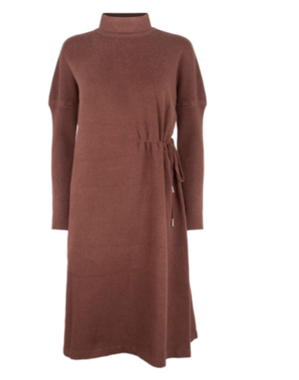 Doncaster Jumper Dress - Brown