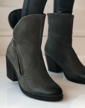 Ramona Boot - Military Green Leather