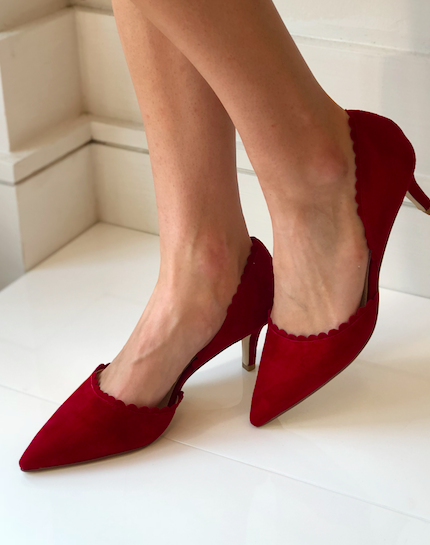 Kenny Low-Heel - Red