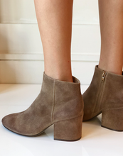 Jude Bootie - Light Brown Suede