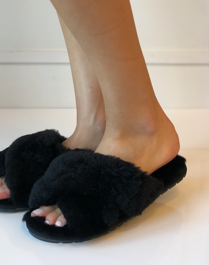 Mayberry Slipper - Black