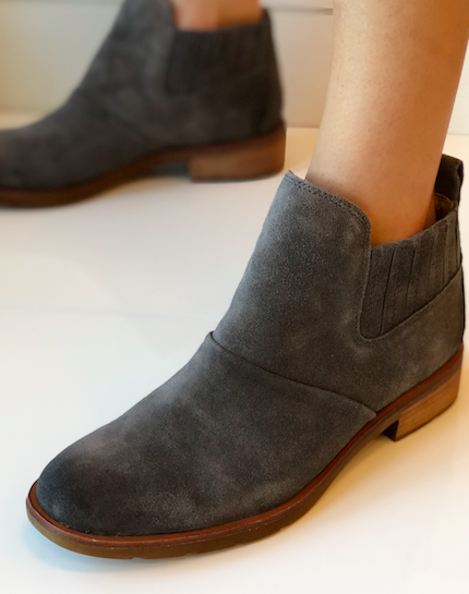 Bellis Bootie - Grey Waterproof Leather