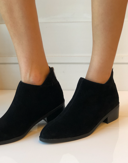 Haven Bootie - Black Suede
