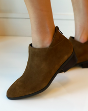 Haven Bootie - Tan Suede