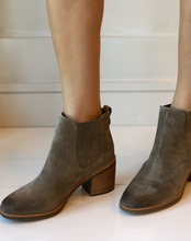 Sadova Chelsea Boot - Light Grey Suede