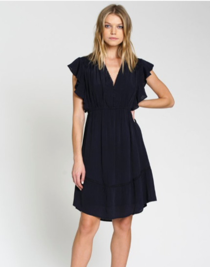 Trattoria Dress - Navy
