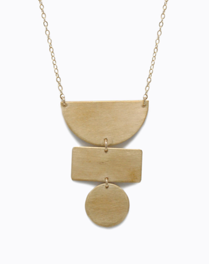 Totem Necklace - Gold