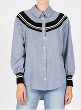 Charron Shirt - Navy Stripe