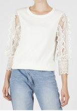 Testra Knitted Sweater - White